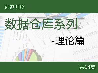 数据仓库系列-理论篇视频课程