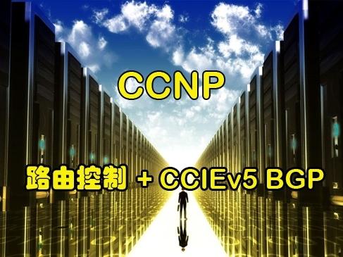安德CCIE系列第2季:CCNP v2.0全网首发-路由控制+CCIEv5 BGP视频课程