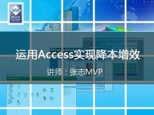 [张志MVP]运用Access实现降本增效视频课程